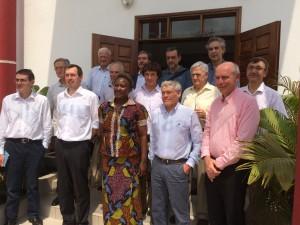 délégation visite Douala Institut Ucac Icam