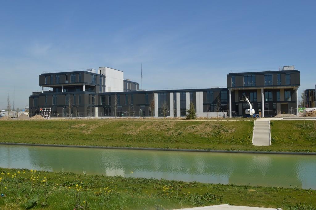 Les bâtiments de l'Icam site de Paris-Sénart